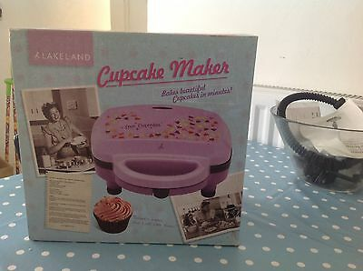 Lakeland Cupcake Maker with Instruction Booklet