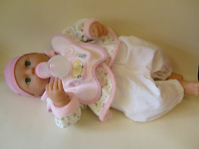Baby Annabell Doll With Outfit And Bottle