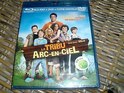 bluray+dvd+copie digitale la tribu arc en ciel neuf sous blister