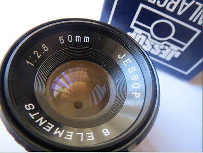JESSOPS 50mm f/2.8, 6 ELEMENT DARKROOM ENLARGER LENS