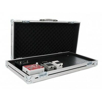 Large Guitar Effect Pedal Board Flight Case with Removable Lid - GB03