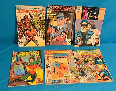 Lot of 6 DC Comic Books