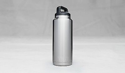 Yeti Rambler 36oz Stainless Steel Thermos Cup Bottle - New Free Shipping!