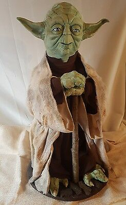 Star Wars Life size Master Yoda Prop statue  (The Empire Strikes Back) scale 1:1