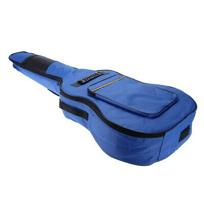 "41"" Guitar Backpack Shoulder Straps Pockets 5mm Cotton Padded Gig Bag Case PF"