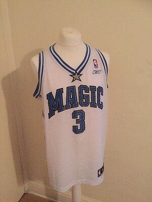Nba Orlando Magic Francis Shirt Size Medium Men White 100% Polyester