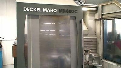 Deckel Maho MH 800 C 5 Axis Machining Center - Inv.3578