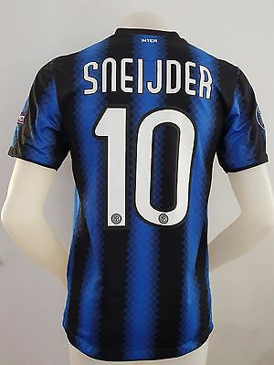 Maglia Calcio Shirt Inter Sneijder Triplete Football Italy Champions 2010 Match