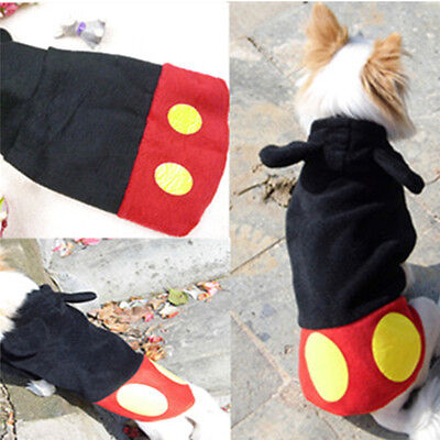 Dog Cat Hoodie Warm Winter Coat Jacket Clothing Pet Puppy Casual Costume Apparel