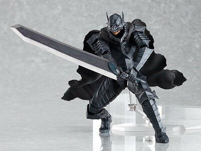 Figma SP-046 Guts Berserk Armour ver. Figure with Comic Book No.37 F/S EMS Japan