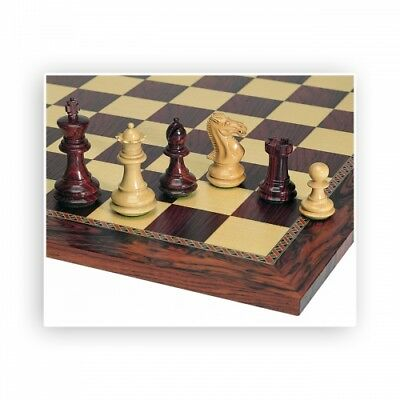 Chess figures - Palisander and Boxwood - Kings height 89mm