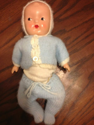 Vintage Reliable Composite Boy Baby Doll