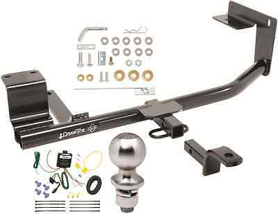 complete trailer hitch package w/ wiring kit fits 2015-2017 volkswagen jetta  new