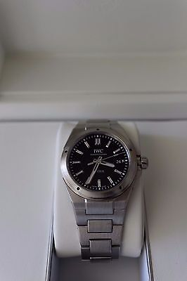 IWC Ingenieur IW323902 Watch Complete Box and Papers Genta Design RRP AU$8,400