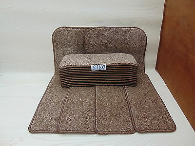 Carpet Stair pads / treads 50cm x 20cm 16 off and 76cm x 46cm 2 Big Mats 2152-3