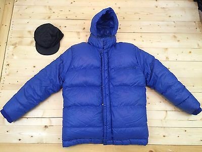 Andre Jamet K2 Goose Down Baffled Expedition Parka Canada Coat French Made 1960