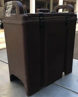 Cambro Brown Insulated Soup Carrier 350LCD. Our #6