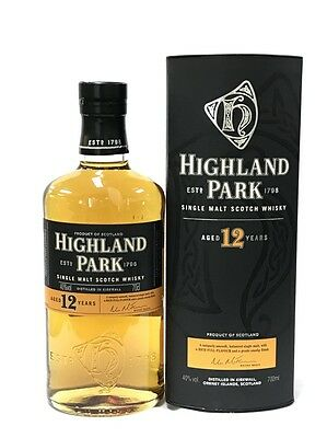 Highland Park 12 Years Old Single Malt Scotch Whisky 700Ml Boxed