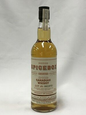 Spicebox Spiced Canadian Whisky 700Ml Bottle