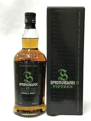 Springbank 15 Years Old Single Malt Scotch Whisky 700Ml Boxed