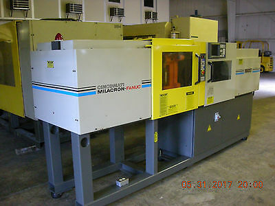 Fanuc/Milacron Roboshot 50 [55 U.S.ton] Injection Molding Machine