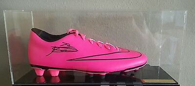 Kelechi Iheanacho Signed Football Boot in Display Case Man City Premier League