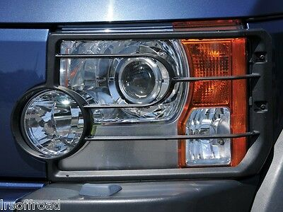 Land Rover Discovery 3 Front Headlight Guards Pair - Vub501200
