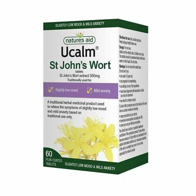 Natures Aid Ucalm 300mg Pack of 60 Tablets 1 2 3 6 12 Packs