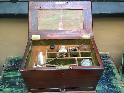 Original Apothecary Doctors Medicine Box & Contents