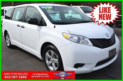 2014 Toyota Sienna Limited V6 7 Passenger 2014 Toyota Sienna L Minivan Only 49 Miles Never Owned Like New