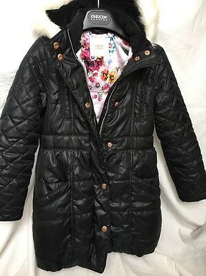 Girls Ted Baker Puffy Coat Age 9