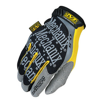 "Guanti Uomo Mechanix Original (0.5) Pelle/trekdry)Black/yellow)Size Eu ""small"""