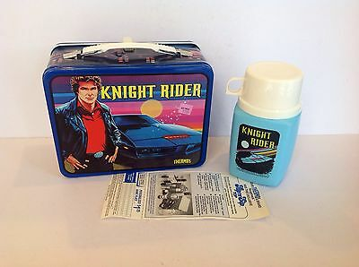 New Unused Vintage Knight Rider Lunchbox By Kst With Thermos & Tags