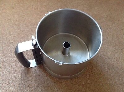 Robot Coupe R301 / R301 Ultra 2 Litre Stainless Steel Metal Bowl, Used
