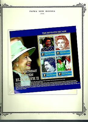 Papua New Guinea 2006 lot on page as seen LMM (A710)