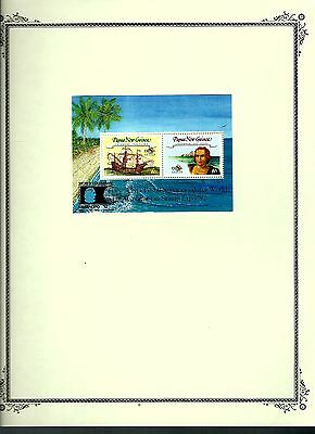 Papua New Guinea 1992 lot on page as seen LMM (A673)