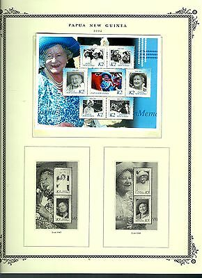 Papua New Guinea 2002 lot on page as seen LMM (A695)