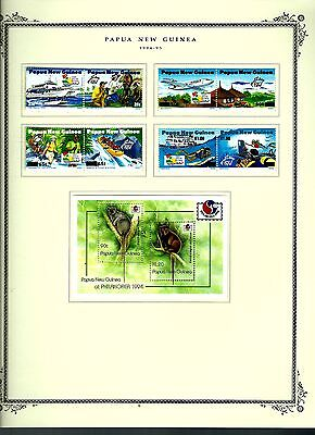 Papua New Guinea 1994 lot on page as seen LMM (A679)