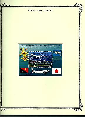 Papua New Guinea 1997 lot on page as seen LMM (A684)
