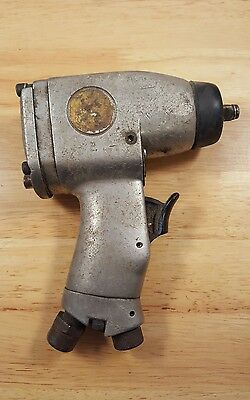 Vintage Pneumatic Drill Air Wrench Made in Japan Chicago Pneumatic? 3/8 Drive