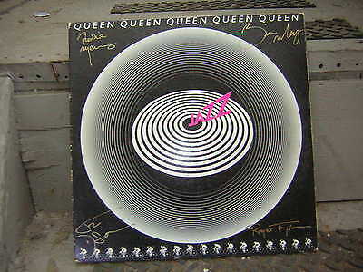 Queen Signed Lp The Jazz Freddie Mercury Brian May 1977