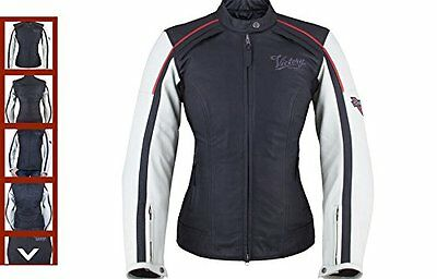 Victory Women's Cascade Leather Motorcycle Jacket