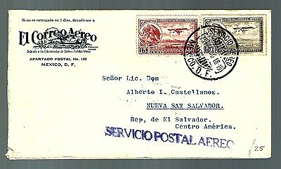 Early cover air mail mexico  (x321)