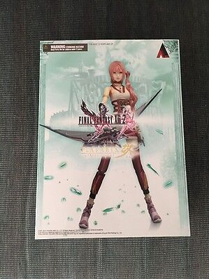 Square Enix Play Arts Kai Final Fantasy XIII-2 Serah Farron NiB US Seller
