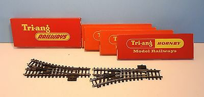 Lot of 5 Triang Hornby Series 4 points (switches) boxed good
