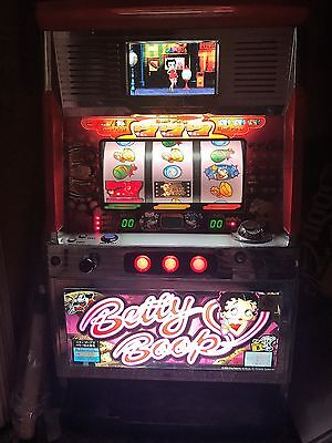 Betty Boop Slot Machine *Very Rare     From Casino