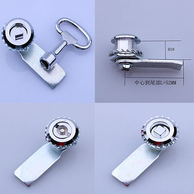Rotary Lock Cylinder For Industrial GGD,PS,MSN Cabinet Square Triangle Linear