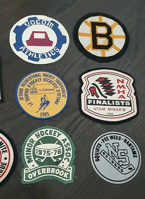 Vintage Ottawa Ontario hockey sports patches 1970s 1980s (peewee, minors)