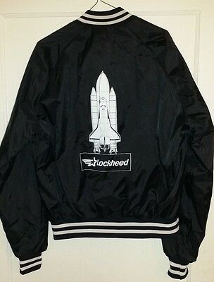 Vintage 1980's Lockheed NASA Space Shuttle Operations Jacket - Excellent