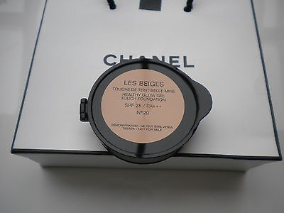 CHANEL ❤ LES BEIGES HEALTHY GLOW GEL TOUCH FOUNDATION No.20 | 9g 0,31OZ. MAKEUP